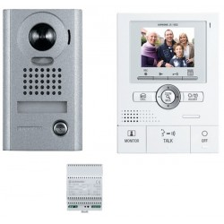 KIT INTERPHONE VIDEO COUL 170° MEMOIRE IMAGE/ ZOOM SAILLIE ANTIVANDAL
