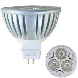 AMPOULE LED GU5.3 3x1W (MR16)