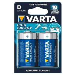 PILES VARTA x2 LR20 HIGH ENERGY
