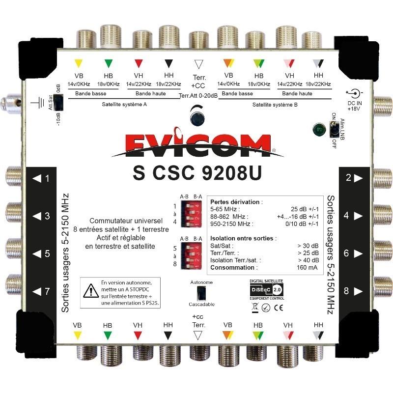 EVIC-SCSC9208U