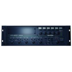AMPLI SONO LIGNE 100V - 5 ZONES - 120 WATTS