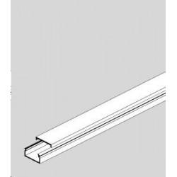 MINI MOULURE PVC 15x30 BLANC (au mètre)
