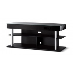MEUBLE TV + BARRE DE SON SURROUND INTEGREE L: 116cm H:50cm